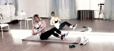 schwerelos Workout Online Kurs