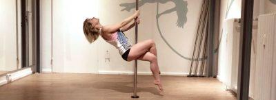 schwerelos Pole Dance Online Kurs: Beginner Pole Kombi